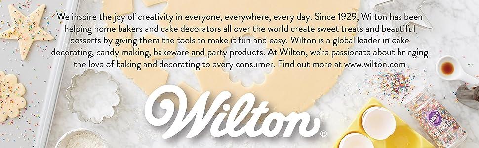 wilton, wilton brands, wilton cake decorating