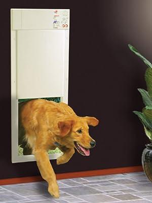 pet door, dog door, electronic pet door, pet products, electric pet door, automatic pet door
