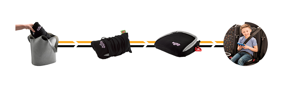 Amazon.com: BubbleBum - Asiento hinchable para coche, Negro ...