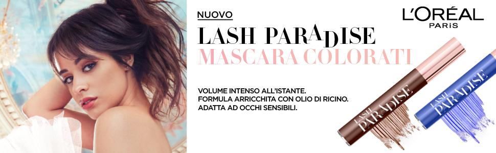 mascar, mascara allungante, mascara volumizzante, paradise, lash paradise