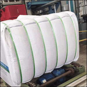 poly polyester pet strapping green banding coils plastic