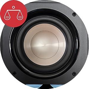 Polk Audio Hts 10 Aktivsubwoofer Für Heimkino Soundsysteme Und Musik 10 Bass Box 200 Watt Audio Hifi