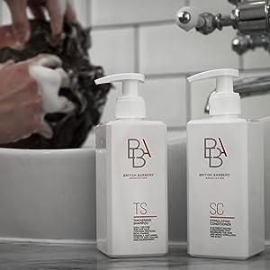 BBA Men's Grooming Hair Care Range