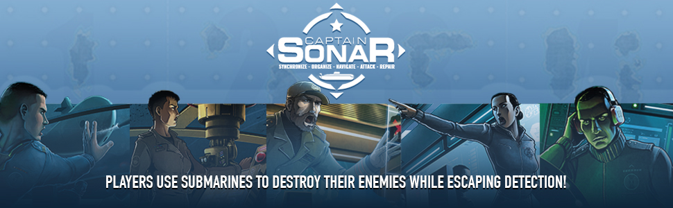Amazon.com: Captain Sonar: Toys & Games