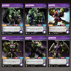 Transformers TCG: Devastator Deck | Ready-to-Play Deck | 46 Cards Incl   Devastator's Combiner Team