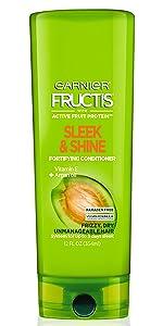 Amazon Com Garnier Fructis Sleek Amp Shine Anti Frizz Serum