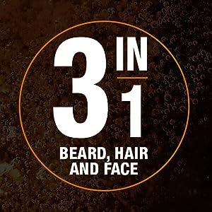 3 in 1 Beard Hair & Face