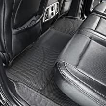ARIES 2803209 StyleGuard XD Black Custom Floor Liners Select Ford F-250 Super Duty Crew Cab 1st and 2nd Row