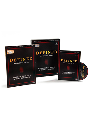 Defined Teen Guys' Bible Study Leader Kit, Alex Kendrick, Stephen Kendrick, Who God Says You Are