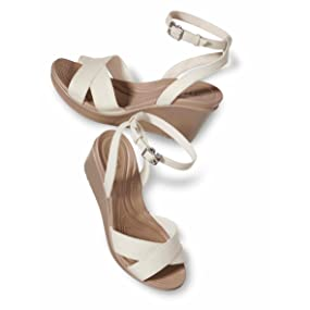 35e2cd40fb6 Leigh II Ankle Strap Wedge.