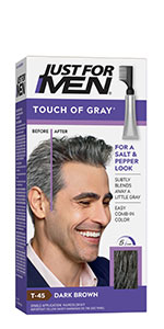 Amazon Com Just For Men Just For Men Shampoo In Color Formerly Original Formula Gray Hair Coloring For Men Ash Brown H 20 1 Count Beauty