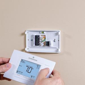 Emerson 1f83h 21pr Heat Pump 2h 1c Programmable Thermostat Amazon Com
