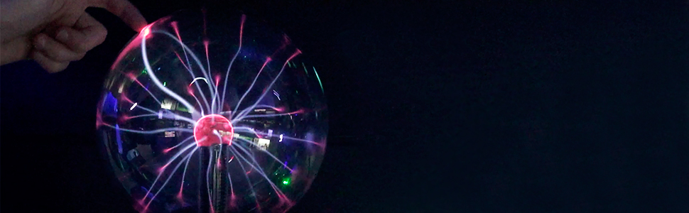 Grande taille: 20cm Boule Plasma XL Activation avec de la musique ou  frapper des mains Juguetronica