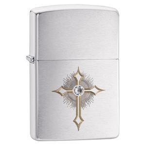 zippo case, case, zippo lighter case, lighter case, cross lighter case, gold cross, spiritual