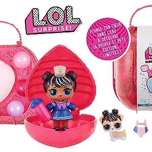 Bubbly LOL Brillant surprise Kids Fashion Poupée Filles Cadeau Orange surprise L.O.L