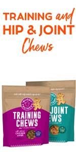 buddy trainer treats boosters chews liver meat protein health digestive training all breeds sizes