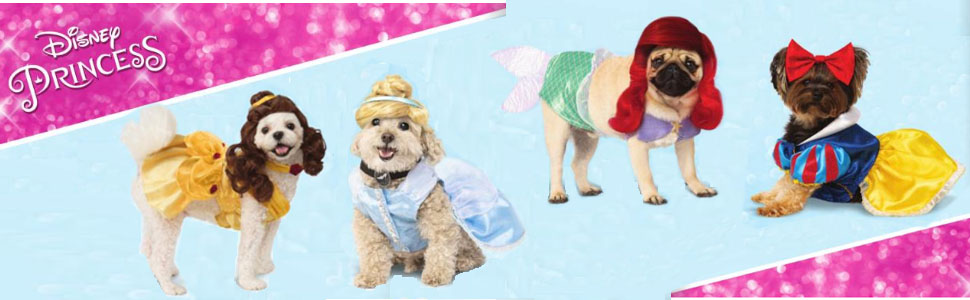 Amazon Com Rubie S Disney Princess Pet Costume Ariel Small Pet Supplies