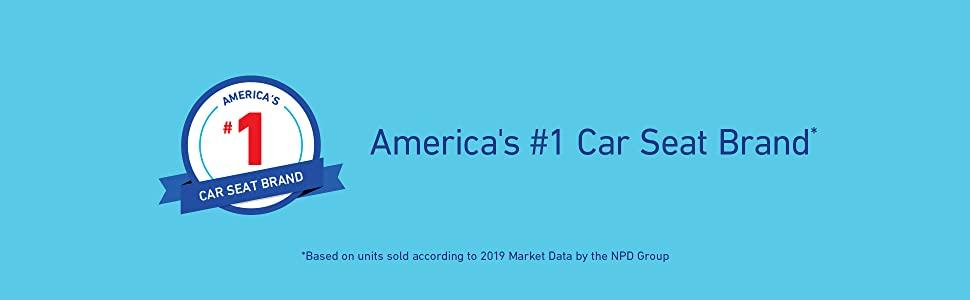 America's # Car seat brand