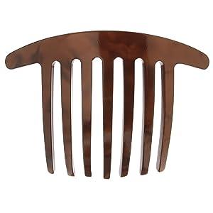 France Luxe Handmade French Twist Comb - Nacro Mocha