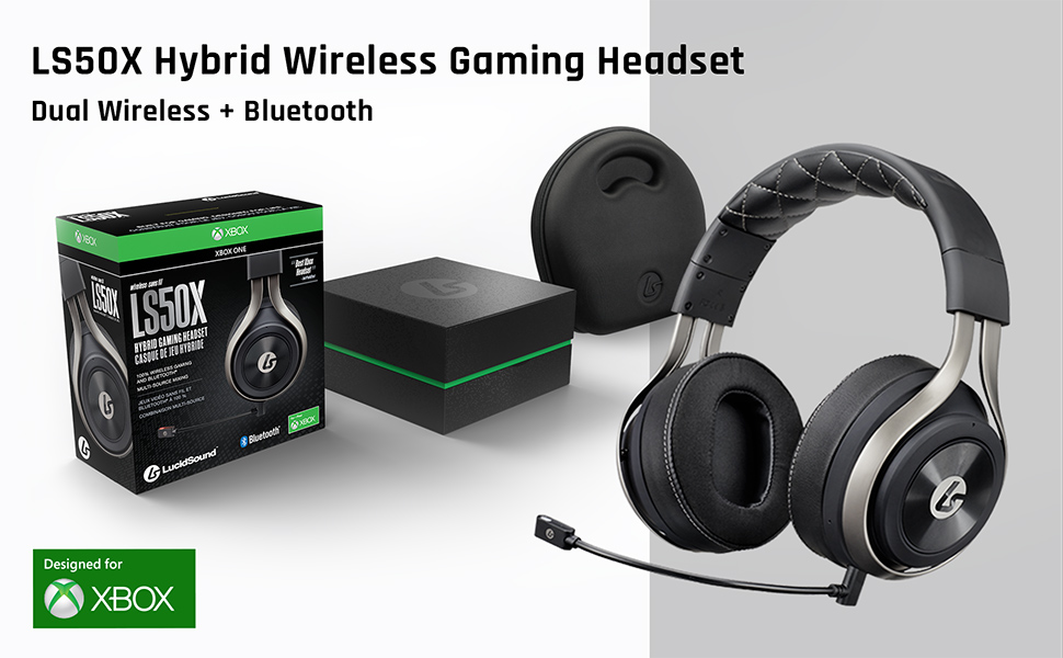 Amazon.com: LucidSound LS50X Wireless Gaming Headset for Xbox One with  Bluetooth: Video Games