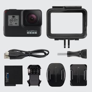 GoPro HERO 7 Black, GoPro HERO7 Black, GoPro HERO7, GoPro Camera, HERO7 Black in box content