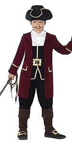 Kinder Jungen Piraten Kapitän Deluxe