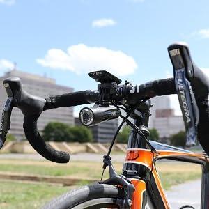 GVOLT70  自転車用ヘッドライト ヘッドライト ロードバイク クロスバイク ミニベロ 小径車 USB充電