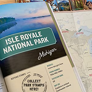 Collect National Park Stamps