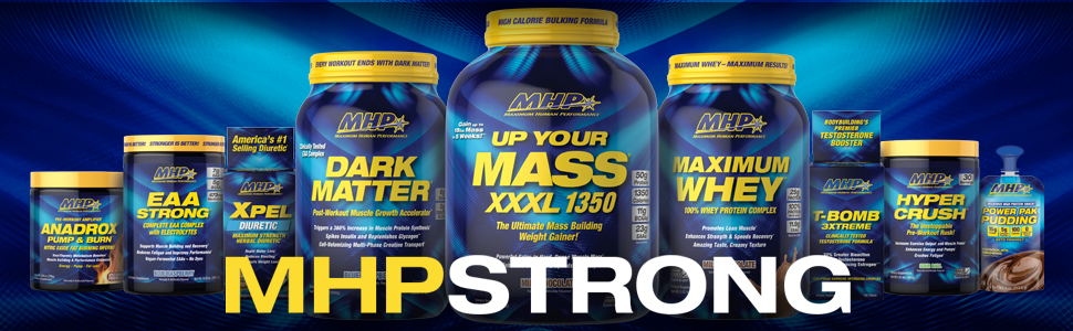 MHP, Maximum Human Performance, T-Bomb, Xpel, Up Your Mass