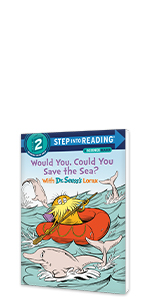 Would You, Could You Save the Sea? With Dr. Seuss's Lorax ocean earth day books for kids