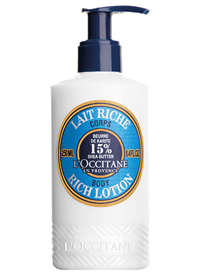 loccitane shea butter ultra rich body lotion