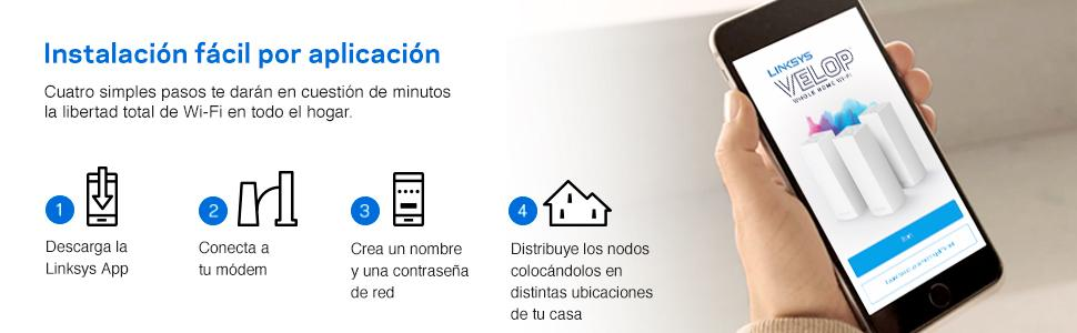 linksys velop wifi amplificador router mesh