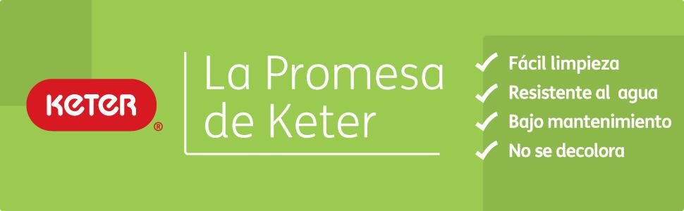 Keter - Mesa de comedor exterior Symphony con 3 extensiones, Color grafito