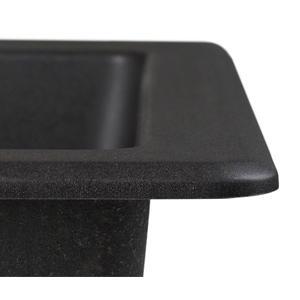 Kraus Kgu 413b 31 Inch Undermount Single Bowl Black Onyx