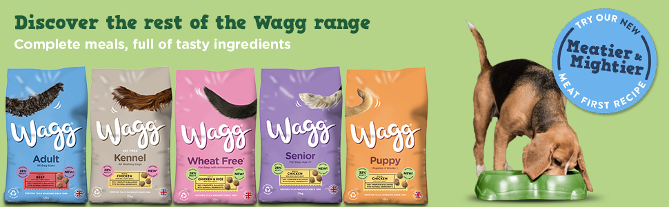 discover the rest of the wagg range - complete meals, full of tasty ingredients