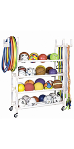 Champion Sports Equipment Storage Cart