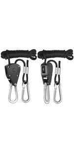 Adjustable Rope Clip Hanger