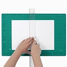 A4書類向けにはゆったりサイズ