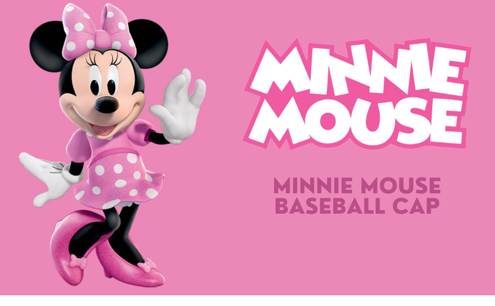 minnie mouse Toddler baseball hat Kids hat Sun hat Girl hat cap sombrero de niños gorra de niños
