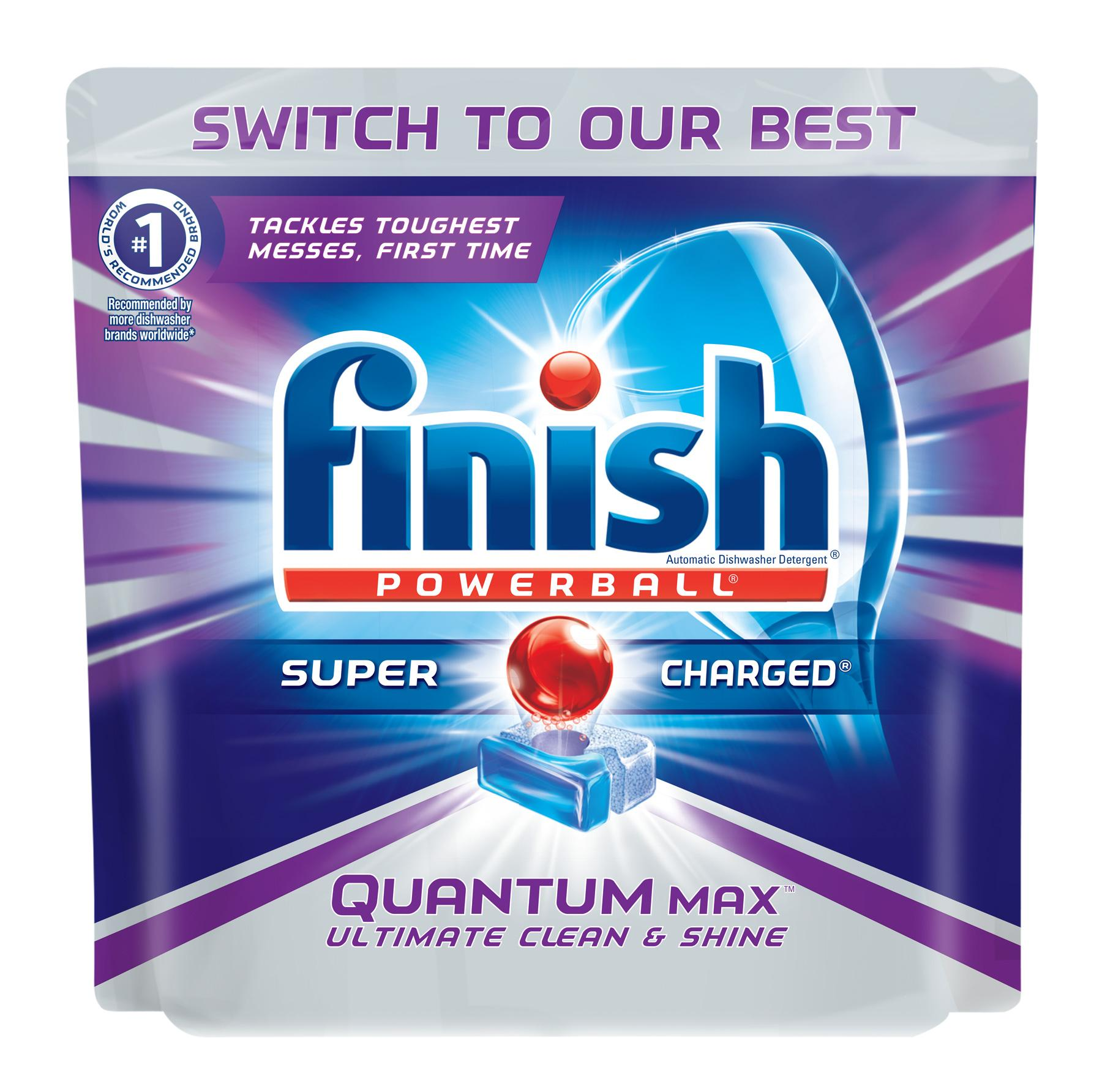 Amazon.com: Finish Quantum Max Fresh 64 Tabs, Automatic