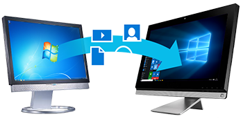 Software that moves your applications, files, and settings from an old to a new PC.