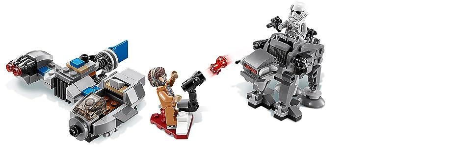 first order heavy assault walker lego instructions