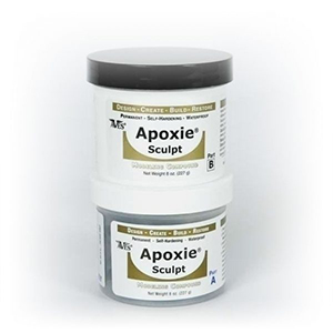 - Apoxie Sculpt 0.5kg Super White 0.5kg, Super White A /& B 2 part modelling compound