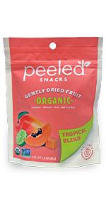 organic dried fruit tropical blend