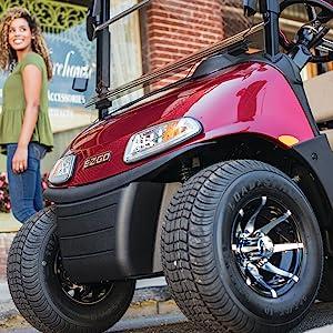 Golf Cart; Golf Car; OEM parts; Tires; Seats; Tops; Camping; Hunting; Windshield;