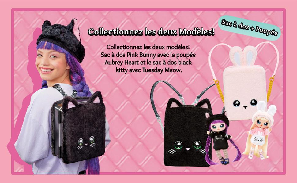 Na! Na! Na! Surprise Backpack Playset Tuesday Meow MGA