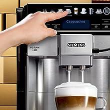 oneTouch Function: Latte Macchiato auf Tastendruck
