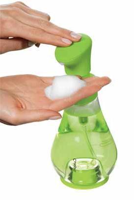 cuisipro foam pump instructions
