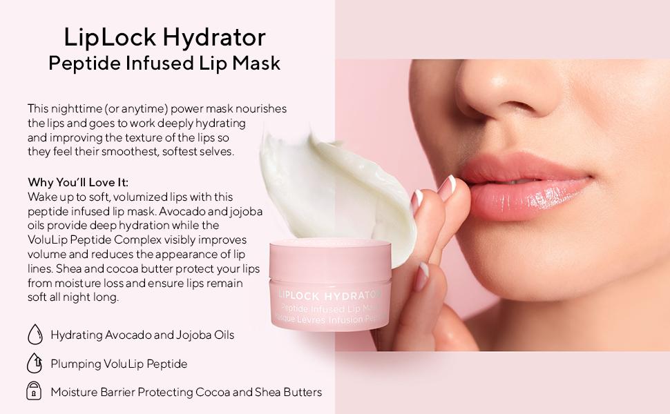 HydroPeptide LipLock Hydrator Peptide Infused Lip Mask