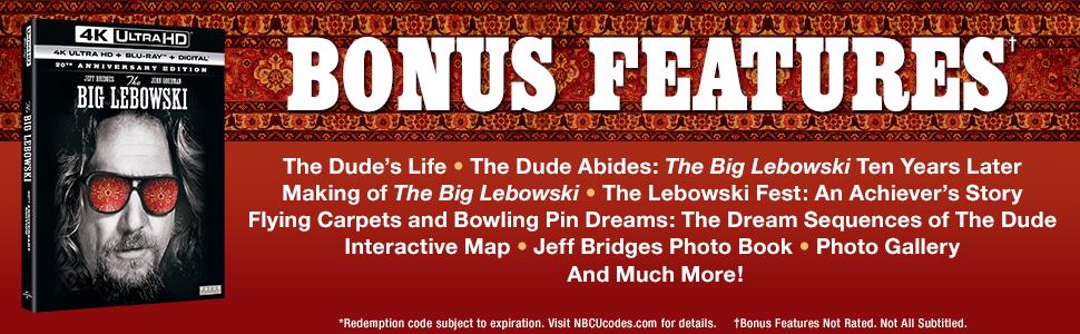 lebowski, the dude, big lebowski, anniversary edition, gift set, collectible, 4K, jeff bridges, gift